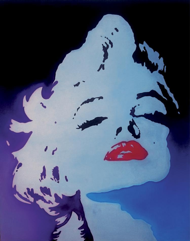 Original Acrylic on Canvas-Marilyn Monroe