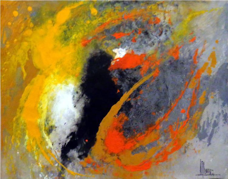 Original Acrylic-High End Mexican Master-Modern Art
