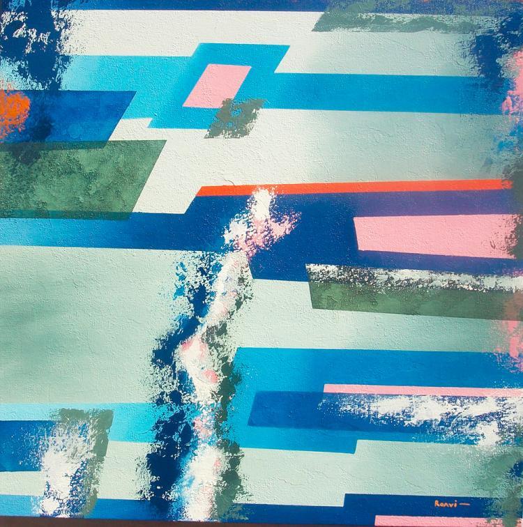 Abstract Rivers-Original Roavi