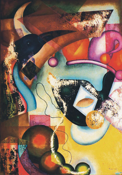 The Great Carnaval- Oil on Canvas- Roavi