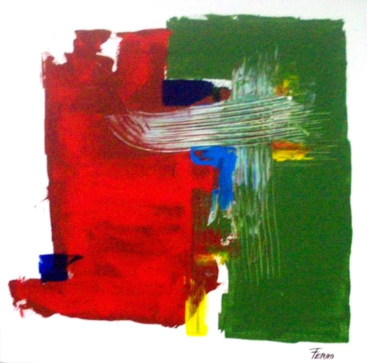 Abstract-Acrylic on Canvas Original- Alfonso Ferro