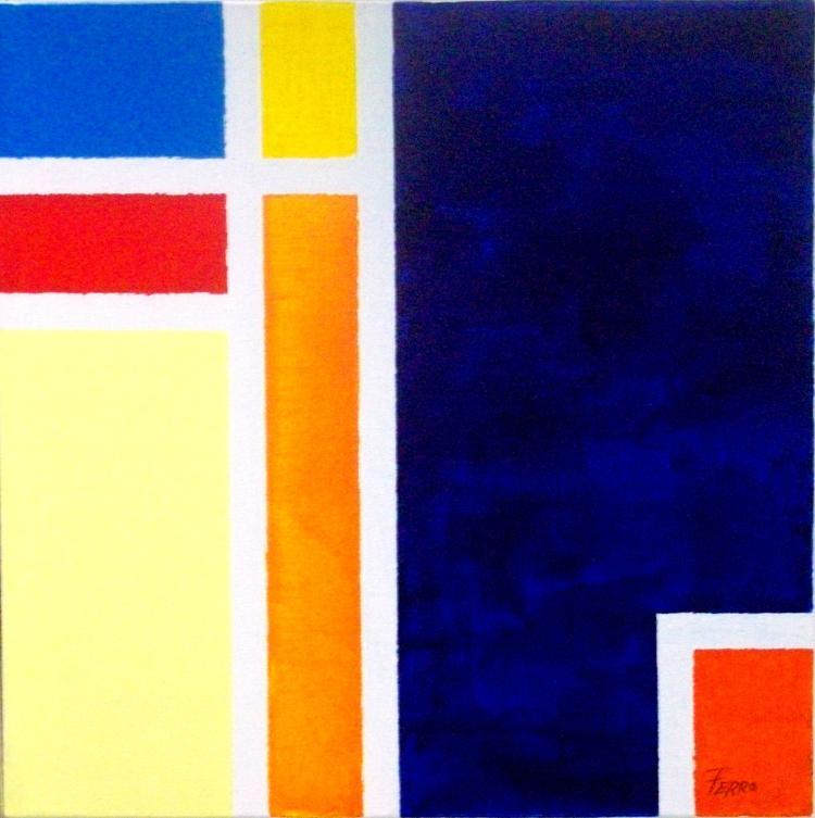 Paradise-Acrylic on Canvas Original -Alfonso Ferro