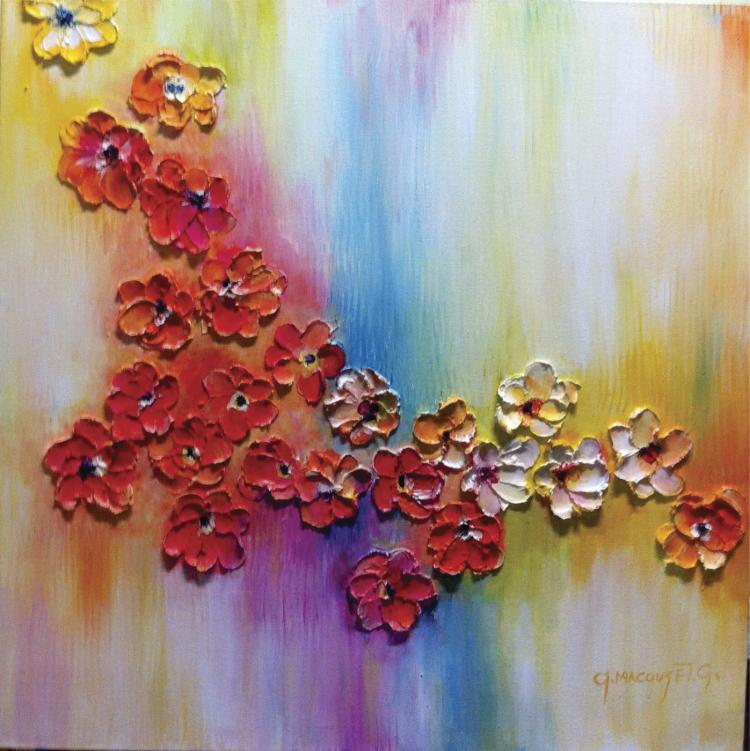 Acrylic on Canvas Original- Alexandra Macouset
