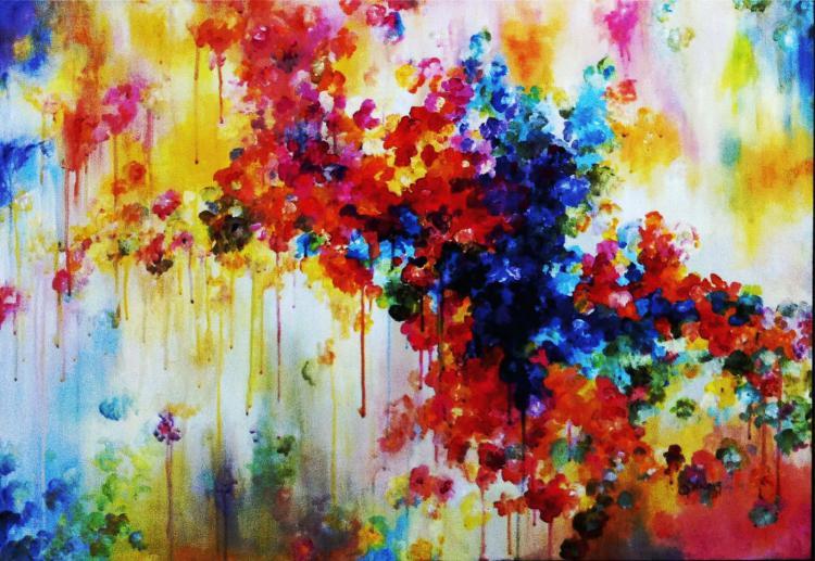 Boldness of Spirit- Acrylic on Canvas Original- Alexandra Macouset