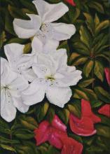 Original Oil on Canvas-Floral Composition