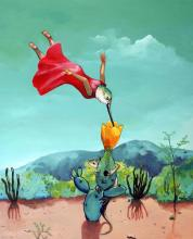 Original Acrylic on Canvas by Elti Alejandro