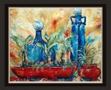 Original Acrylic on Canvas by Alexandra Macouzet