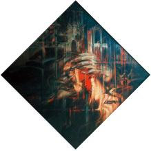 Original Acrylic on Canvas by Antonio Vega