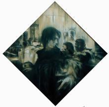 Original Acrylic on Canvas Antonio Vega