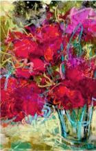 Original Acrylic & Texture on Canvas- Original Izabela Rowstknowska