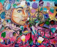 Original Acrylic by Luis Riera