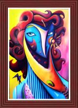 Original Mixed Media on Canvas by Pablo Mendoza