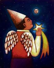 Mexican Folk Art- Acrylic on Canvas by Esau Andrade
