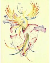 Original Color Pencil on Archival Paper by Diwenny Diaz