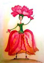 Mexican Folk Art- Original watercolor by Esau Andrade