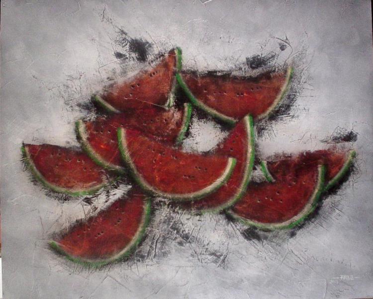 Watermelon Delight-Original Ramirez Aguilar