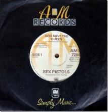 Sex Pistols hand numbered edition