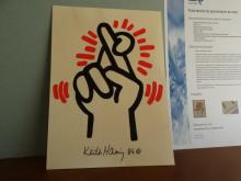 Keith Haring, drawing + independent appraisement
