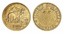 Gold coin, German East Africa