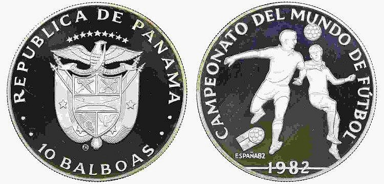 Panama - 10 Balboas 1982