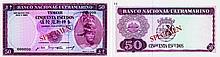 Paper Money - Timor 50$00 1967 ESPÉCIME