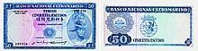 Paper Money - Timor 50$00 1967