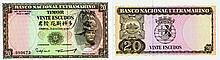 Paper Money - Timor 20$00 1967