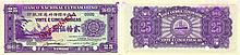 Paper Money - Timor 25 Patacas 1945 SPECIMEN