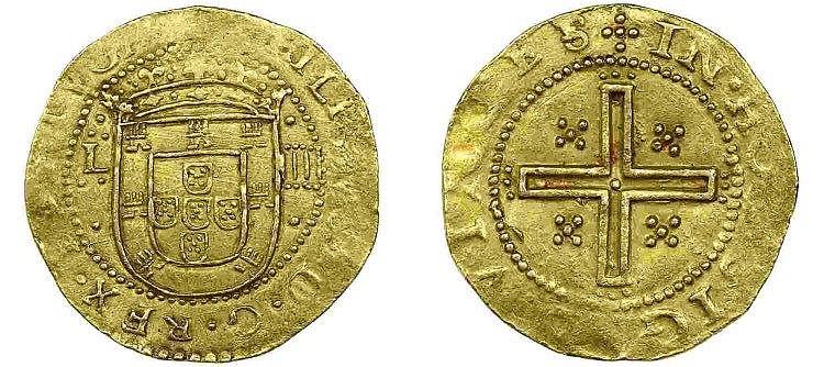 Portugal - D. Filipe III - 4 Cruzados nd, RARE