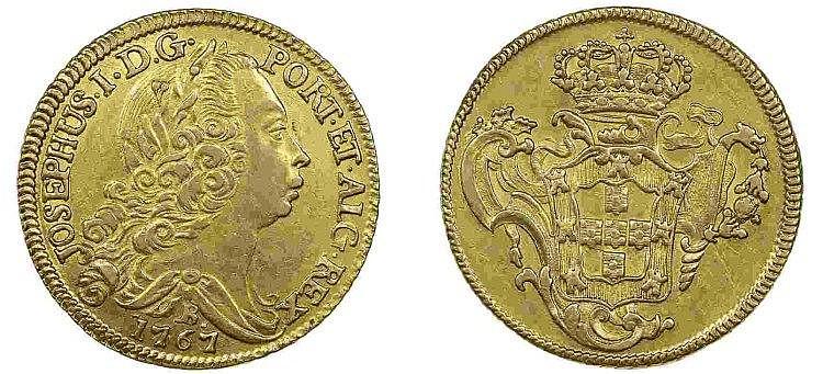 Brazil - D. José I - Peça 1767 B