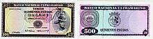 Paper Money - Timor 500$00 1963