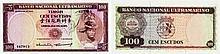Paper Money - Timor 100$00 1963