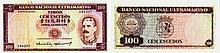 Paper Money - Timor 100$00 1959
