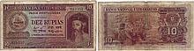 Paper Money - Portuguese India 10 Rupias 1945