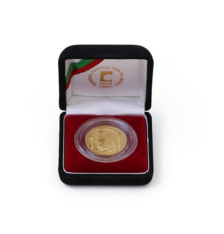 Portugal - Republic - 500$00 1995, Gold