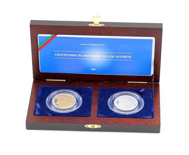Portugal - Republic - 2 coins 500$00 2000