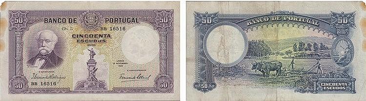 Paper Money - 50$00 ch. 5 1932