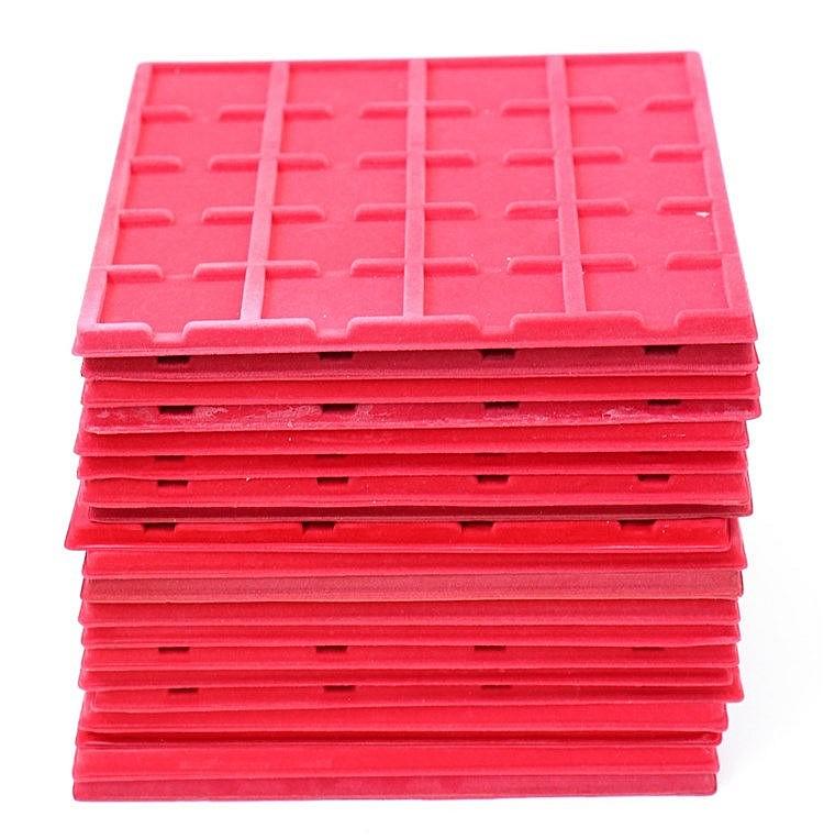 Material Numismático - 20 Tabuleiros