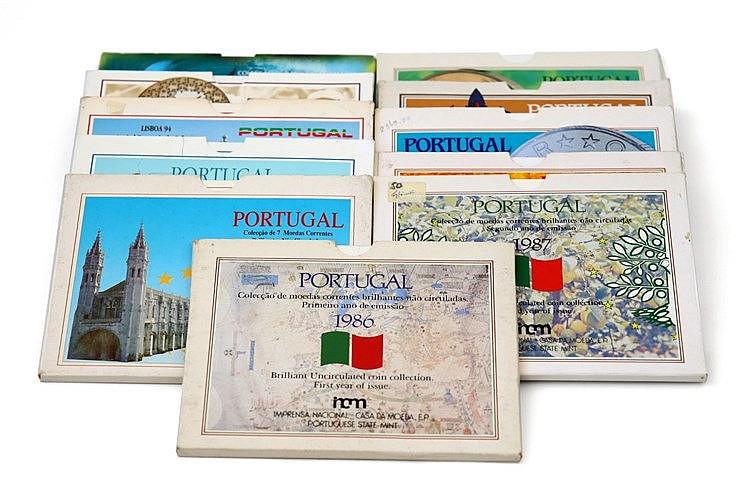 Portugal - Republic - 11 Portfolios BNC 1986-1997