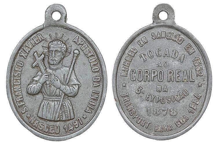 Medalha - Verónica 1878