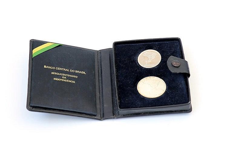 Brazil - 2 coins 1, 20 Cruzeiros 1972