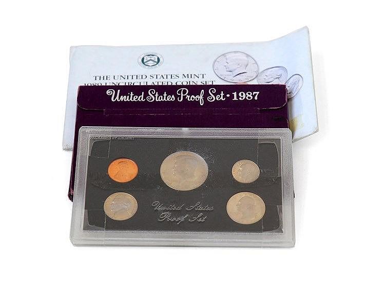 U.S.A. - 5 portfolios 1983-1989