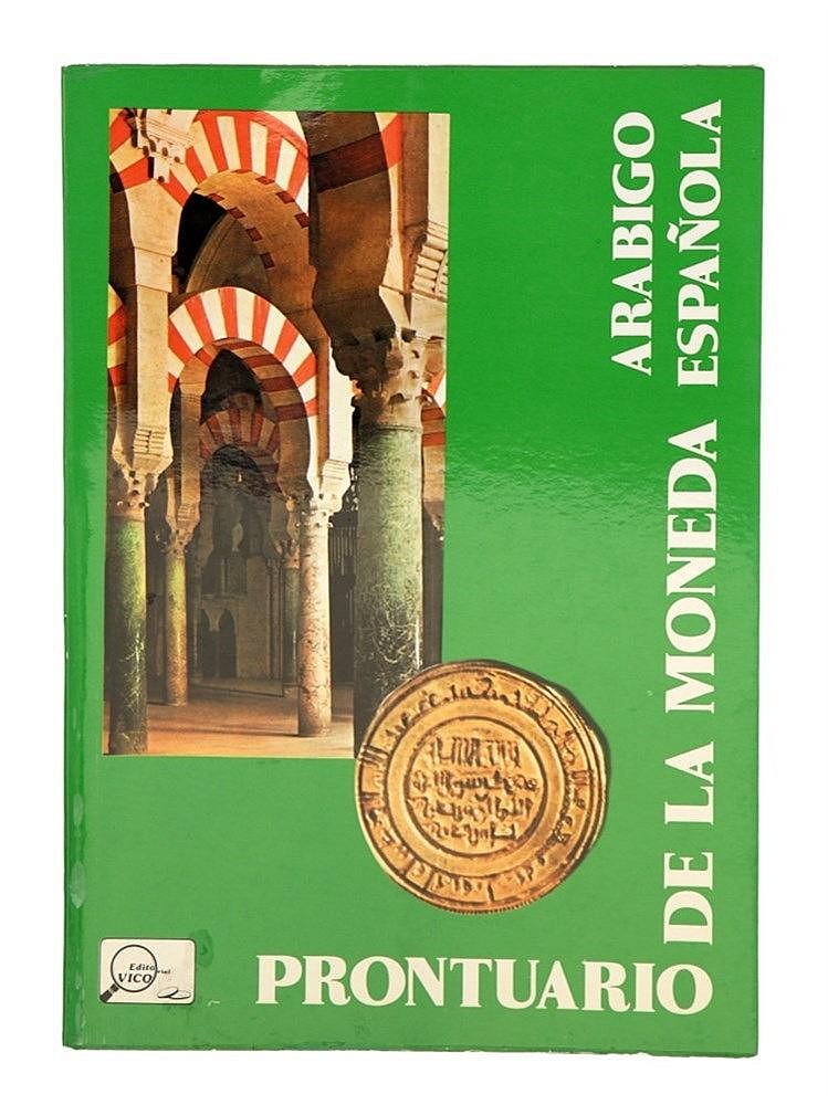 Book - Prontuario de la Moneda Arabigo Española