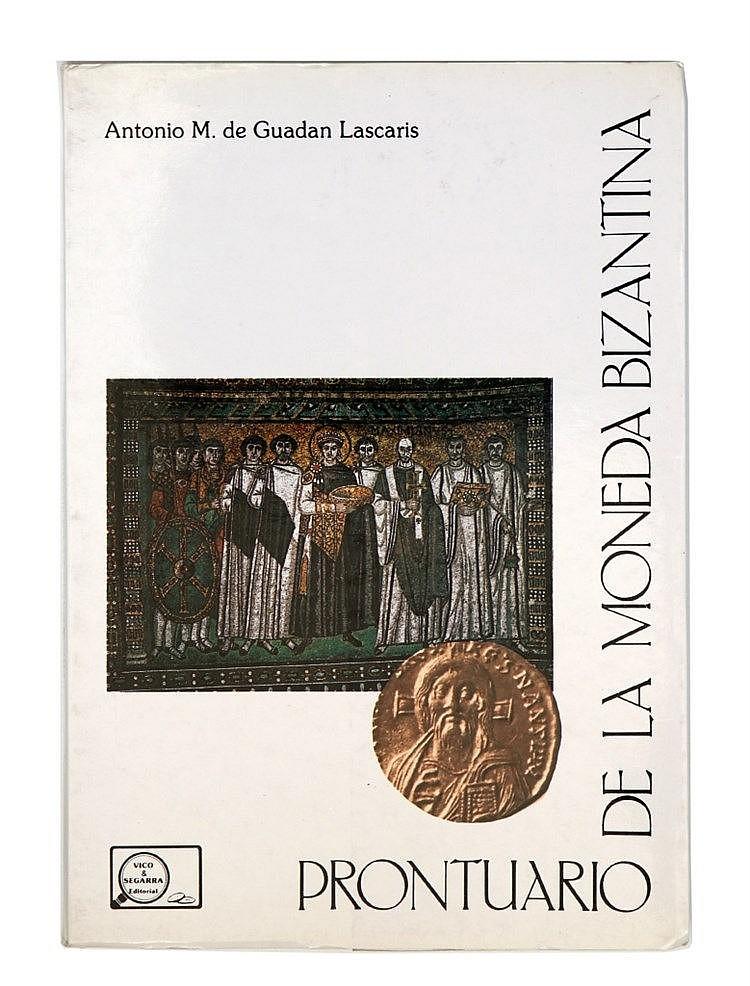 Book - Prontuario de la Moneda Bizantina
