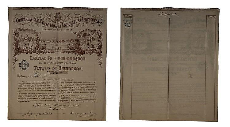 Título de Fundador 1886
