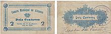 Cédula - Abrantes 2 Centavos 1920