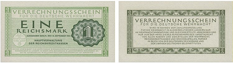 Paper Money - Germany Reichsmark 1944