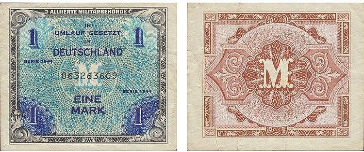 Paper Money - Germany Mark 1944