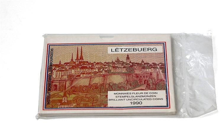 Luxemburgo - Serie BNC 1990