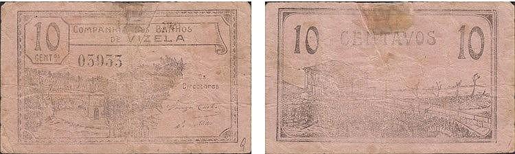 Cédula - Guimarães 10 Centavos N/D